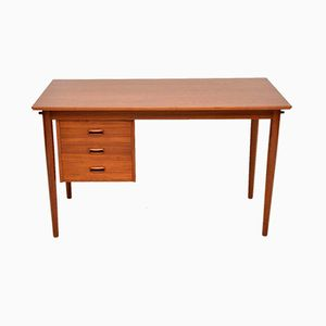 Vintage Danish Teak Desk by Arne Vodder, 1960s