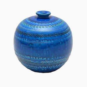 Italienische Vintage Vase von Aldo Londi für Bitossi, 1960er
