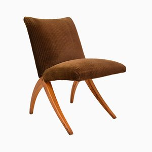 Vintage Scissor Lounge Chair, 1960s