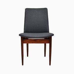 Dänische Vintage Esszimmerstühle aus Palisander, 1960er, 6er Set