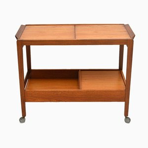 Vintage Teak Drinks Trolley, 1960s