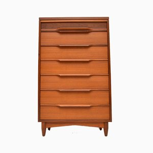 Vintage Walnut Chest of Drawers from White & Newton, 1960s