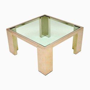 Beistell- oder Couchtische aus Chrom & Glas, 1970er, 2er Set