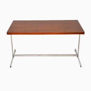 Vintage Schreibtisch aus Palisander & Chrom von Merrow Associates, 1970er