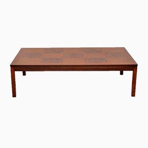 Vintage Scandinavian Rosewood Coffee Table from Heggen, 1970s