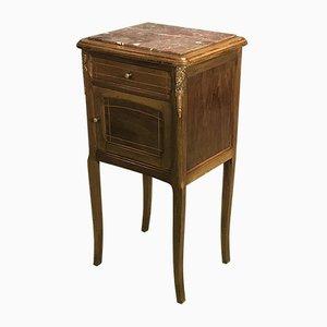 Table de Chevet Vintage en Acajou, 1920s
