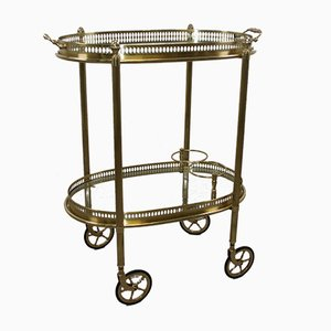 French Drinks Trolley from Maison Jansen, 1950s