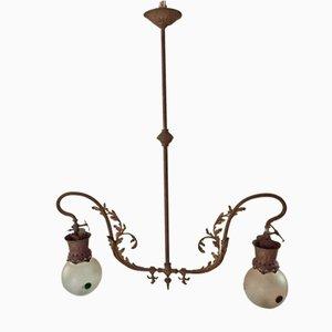 Lampada da soffitto Art Nouveau