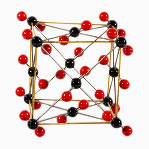 Modelo molecular vintage, años 50