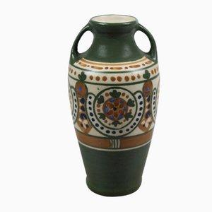 Vase Amphore Art Déco de Arnhemsche Fayencefabriek, 1920s