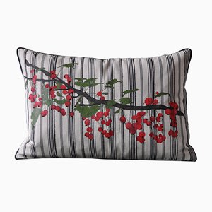 Bacche Rosse Cushion from GAIADIPAOLA