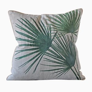 Windmill Palm Cushion from GAIADIPAOLA