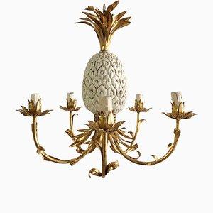 Lampadario a forma di ananas, anni '50