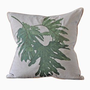 Philodendon Due Cushion from GAIADIPAOLA