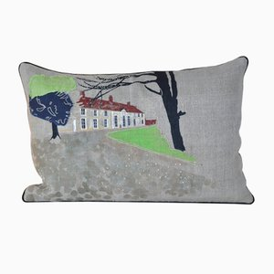 House in Normandy Cushion from GAIADIPAOLA