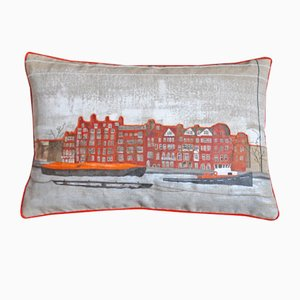 Chelsea Embankment Due Cushion from GAIADIPAOLA