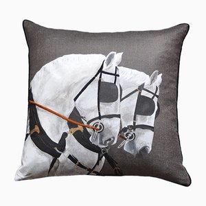 ROYAL HORSES DUE Kissen von GAIADIPAOLA