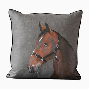 Royal Horses Uno Cushion from GAIADIPAOLA