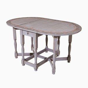 Tavolo pieghevole, Svezia, XIX secolo