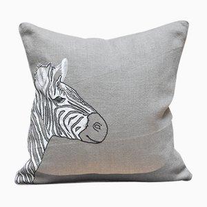 Zebra Kissen von GAIADIPAOLA