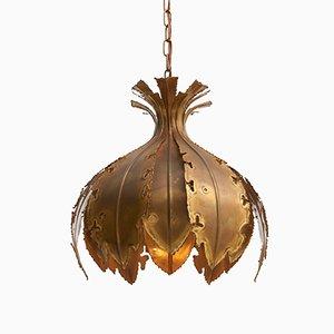 Lampe à Suspension Brutaliste par Svend Aage Holm Sørensen, 1960s