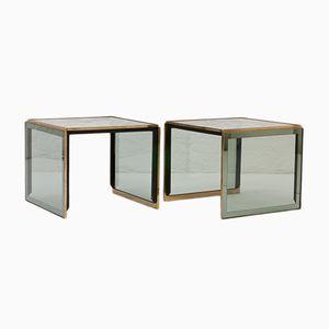Tavolini, Italia, anni '70, set di 2
