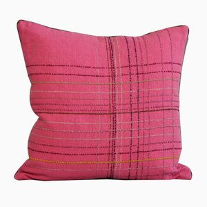 Tartan Rosa Cushion from GAIADIPAOLA
