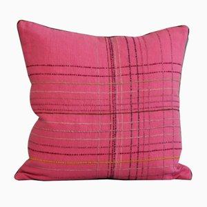 Tartan Rosa Cushion from GAIADIPAOLA