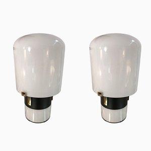 Lámparas de mesa de LOM Monza, años 70. Juego de 2