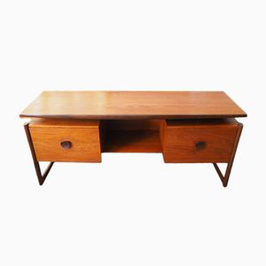 Mid-Century Floating Top Quadrille Desk G-Plan, 1960s