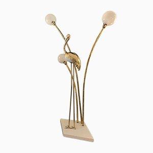 Lámpara de pie italiana, años 70