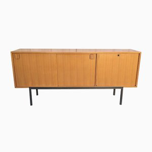 Vintage Modernist Sideboard by Bernard Marange for Meubles Polyvalents, 1955