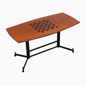 Tavolo da gioco di Osvaldo Borsani per Tecno, anni '70
