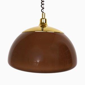 Lámpara de techo alemana regulable en altura de Cosack, años 70