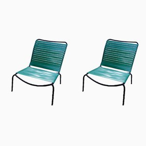 Fireside Chairs by André Monpoix, 1954, Set of 2