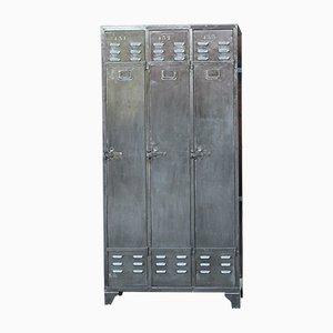 Three-Door Metal Locker by Jeremy Binder