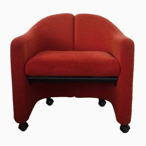 Italienischer PS142 Sessel von Eugenio Gerli für Tecno, 1960er