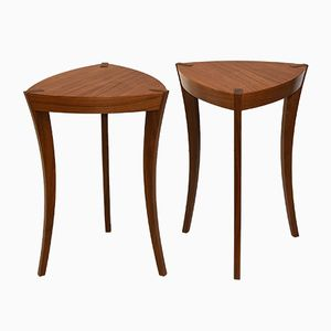 Walnut Side Tables from Michael Westgate, 2000s, Set of 2