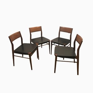 Mid-Century Dining Chairs by Georg Leowald for Wilkhahn, Set of 4