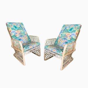 Anpassbarer Sessel aus gesponnener Glasfaser von Russell Woodard, 1970er