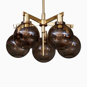 Lámpara de techo T348/5 Pastoral de Hans-Agne Jakobsson, años 60