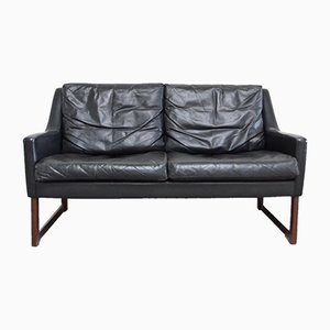 Leather Sofa by Rudolf Glatzel for Kill International, 1960s