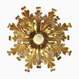 Hollywood Regency Ceiling Lamp, 1970s