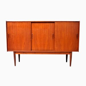 Scandinavian Sideboard in Teak, 1960s