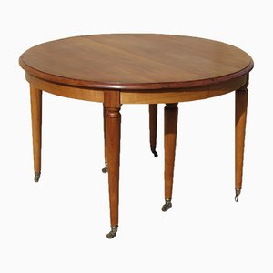 Ausziehbarer Tisch aus Kirschholz, 1940er