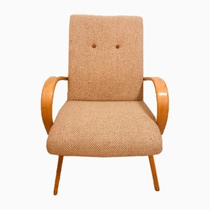 Czech Armchair by Jaroslav Smidek for TON, 1950s