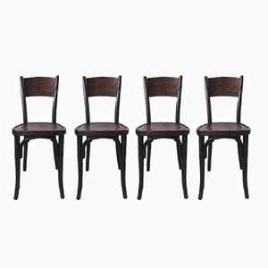 Antique Bistro Chairs from Jacob & Josef Kohn, Set of 4