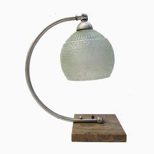 Antike Schreibtischlampe im Jugendstil