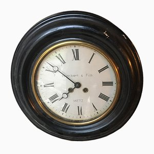 Runde Napoleon III Uhr, 1890er