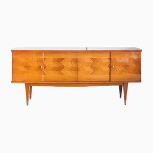 French Varnished Wood Sideboard, 1970s